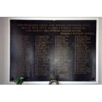 Ügyvédi Kamara emléktáblája